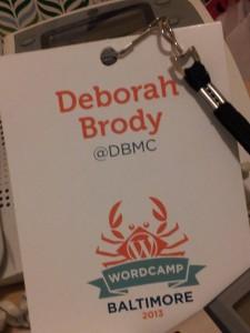 Wordpress Camp Baltimore 2013