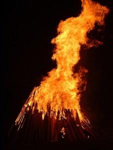 Bonfire by CP Sutcliffe via Flickr
